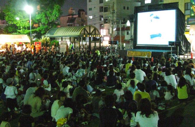 26日(金)『親子で公園アニメ劇場』でインド亭の屋台が出ます♪