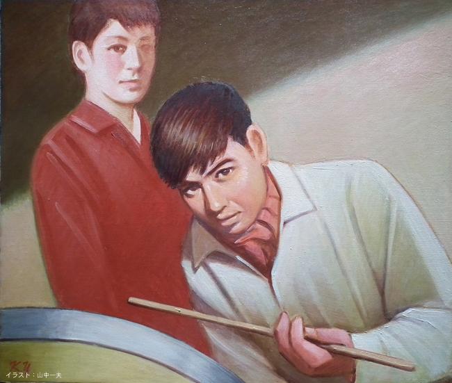 神戸の映画イベント新開地映画祭、神戸アートビレッジセンター(KAVC)で上映、石原裕次郎主演の日活青春映画「嵐を呼ぶ男」のご紹介です!おいらはドラマーなど数々の名言をお楽しみください!