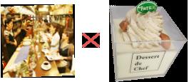 珈琲道場×菓子sパトリーの洋梨のカップケーキ