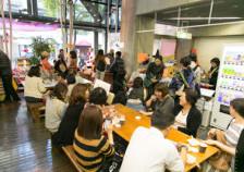 新開地映画祭 空の下カフェ